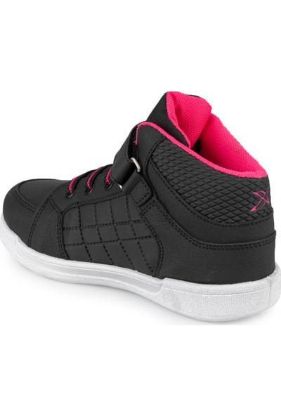 Kinetix Lenko Hı Pu 9Pr Siyah Kız Çocuk Sneaker Ayakkabı