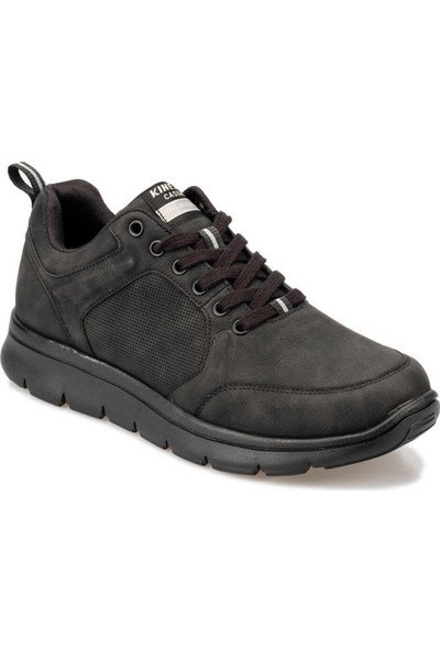 Kinetix Cresto 9Pr Siyah Erkek Ayakkabı