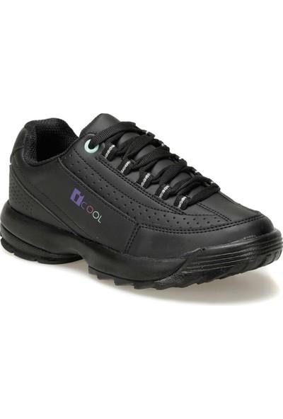 I Cool Fılamınt Siyah Kız Çocuk Ayakkabı