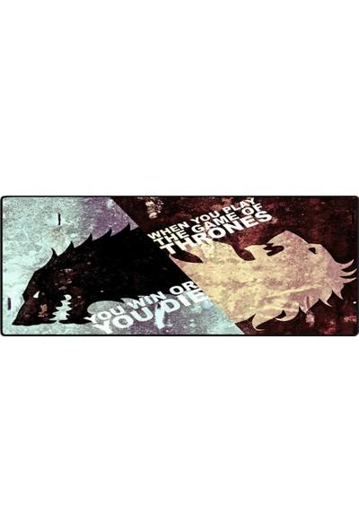 Porge Profesyonel XL 90 x 40 Geniş Oyuncu Mousepad Game Of Thrones