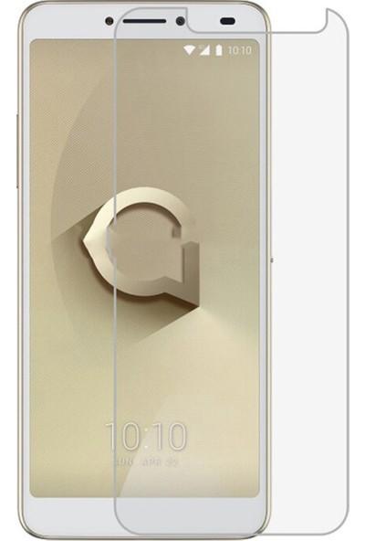 Microcase Alcatel 3V Tempered Glass Cam Ekran Koruyucu