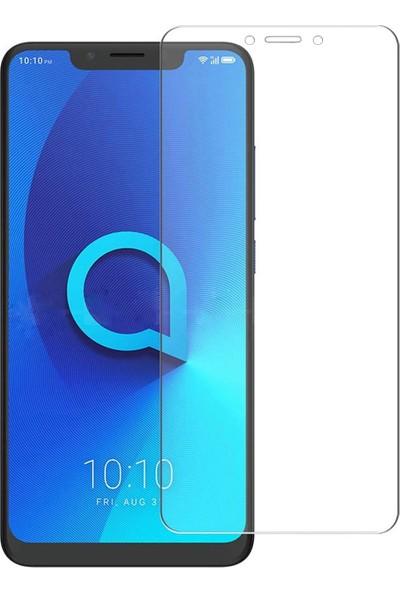 Microcase Alcatel 5V Tempered Glass Cam Ekran Koruyucu