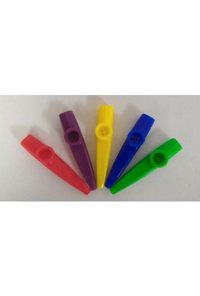 Cremonia Plastik Kazoo 5 Farklı Renk Seçeneğiyle