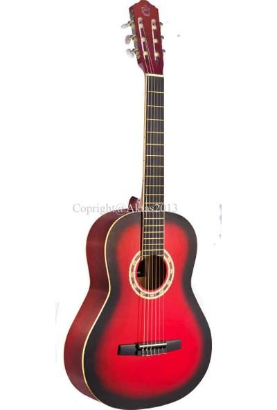 Carıssa Carissa-Cg-160 Rds(Kırmızı Siyah) Klasik Gitar
