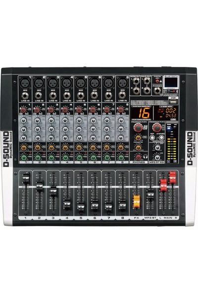 D-Sound D-Sound M-800P 8 Kanal Power Mixer