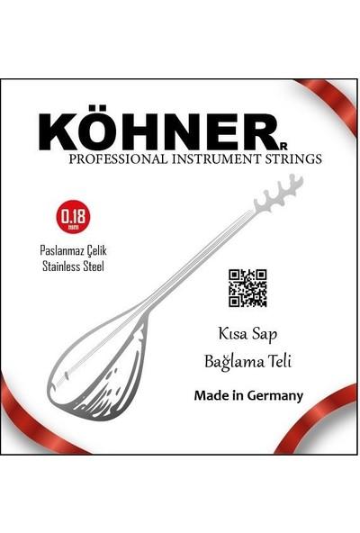 Köhner Köhner Saz Teli 0.18 Kısa Sap Bağlama
