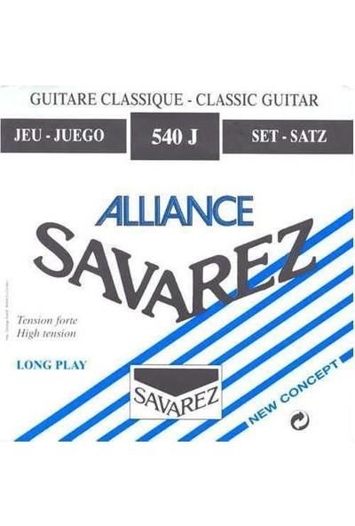 Savarez Savarez 540J Alliance/Ht Blue,Forte Klasik Gitar Teli