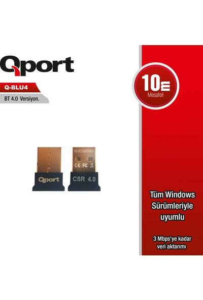 Qport Q-BLU4 Bluetooth 4.0 Adaptör