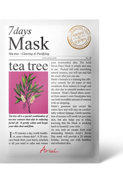 Ariul Seven Days Mask - Tea Tree