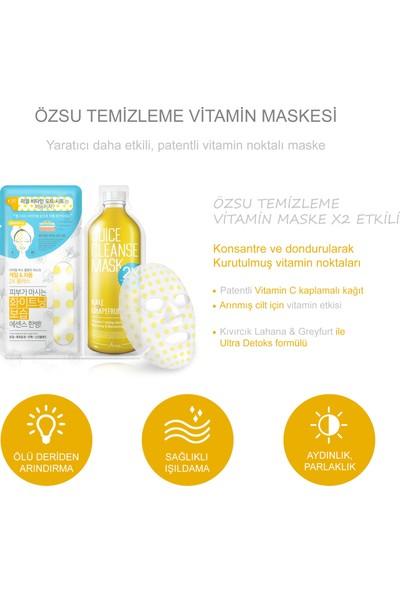 Ariul Juice Cleanse Mask 2x Plus - Kale & Grapefruit