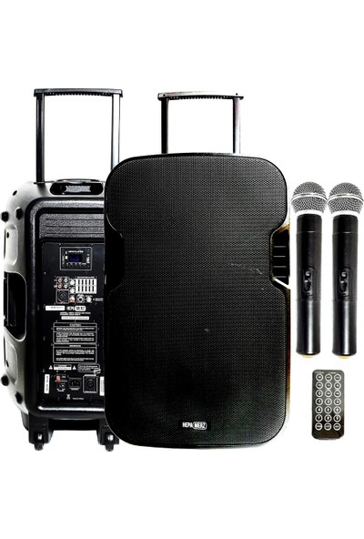 Hepa Merz HS-1000EE Taşınabilir Hoparlör Ses Sistemi 1000 Watt