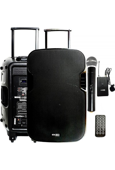 Hepa Merz HS-1000EY Taşınabilir Hoparlör Ses Sistemi 1000 Watt