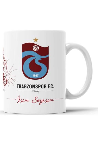 Endigift Endigift Trabzonspor Kişiye Özel Isim Baskılı Kupa Bardak