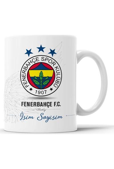 Endigift Fenerbahçe Kişiye Özel Isim Baskılı Kupa Bardak