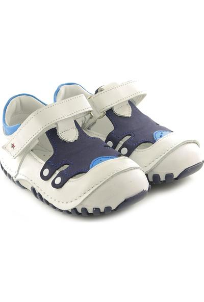 Kids World T23 Deri Ortopedik Erkek Çocuk Ayakkabı
