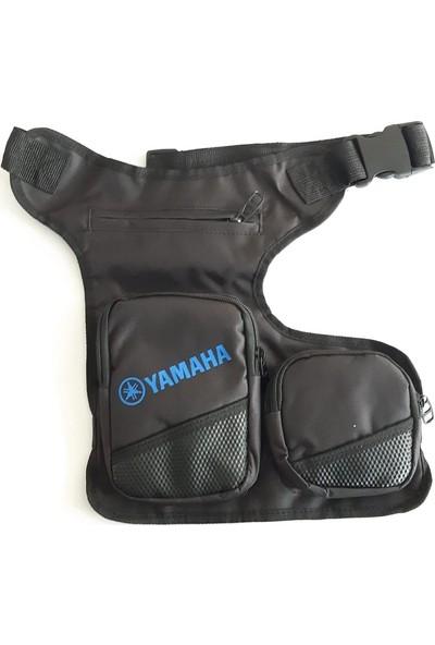 Mts Yamaha Bel - Bacak Çantası, Motosiklet Bacak Çantası Yamaha Baskılı