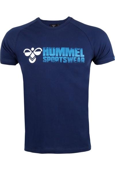 Hummel Lacivert Erkek Günlük Tişört 910484-7480