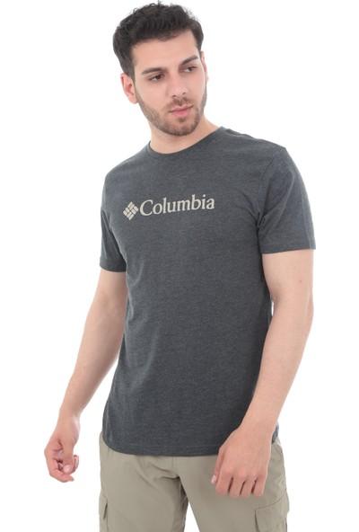 Columbia Co1680050 Csc Basic Logo™ Short Sleeve Erkek T-Shirt Gri