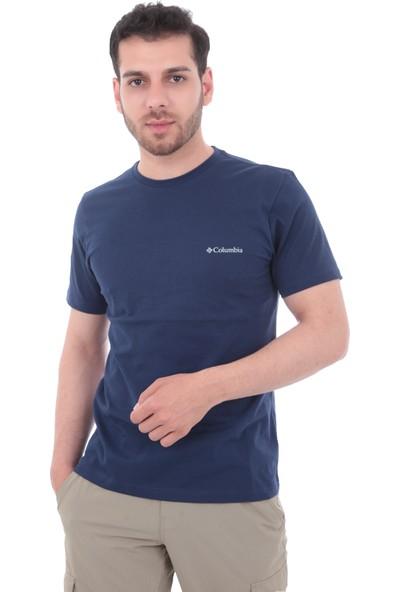 Columbia Co9110010 Csc Basic Ss Tee Erkek T-Shirt Lacivert