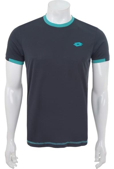 Lotto Lr3693 T-Shirt Court Pl Erkek T-Shirt Lacivert