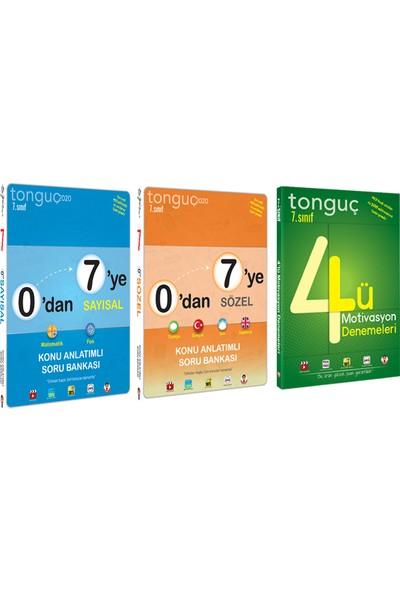 Tonguç Akademi 7. Sınıf Sözel, Sayısal ve Deneme Set 3 Kitap