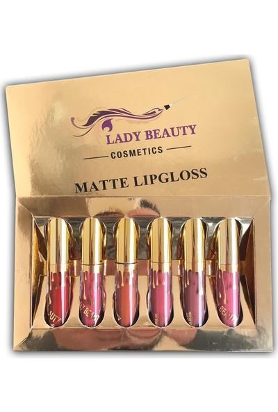 Lady Beauty 6`lı Ruj Serisi