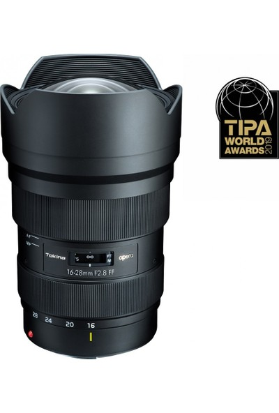 Tokina Opera 16-28 F2.8 Ff Lens -Canon