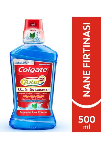Colgate Total Nane Ferahlığı Alkolsüz Gargara 500 ml