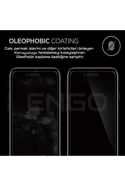 Engo Samsung Galaxy M10 2.5D 9H Temperli Şeffaf Ekran Koruyucu