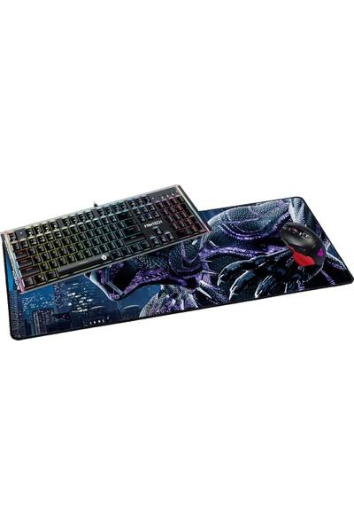 Fantech 2019 70 x 30 cm 3 mm Black Panter Oyuncu Mousepad