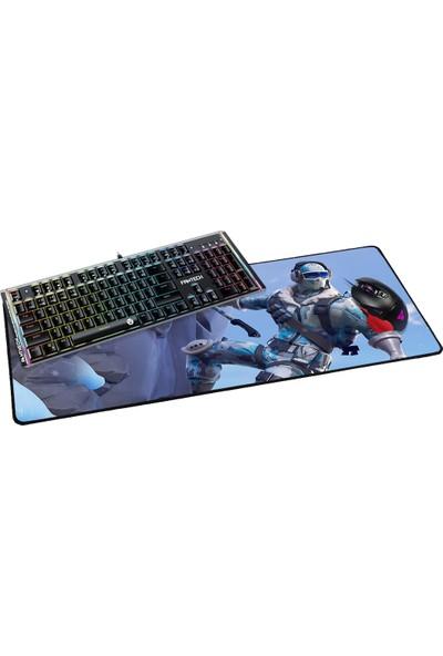 Fantech 2019 70 x 30 cm 3 mm Fortnite Tırmanış Oyuncu Mousepad