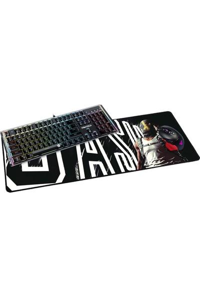 Fantech 2019 70 x 30 cm 3 mm Gangter Cash Oyuncu Mousepad