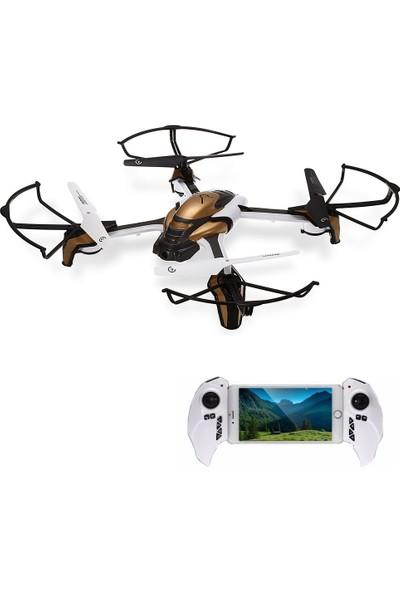 Kaideng Pantoma K80 Kullanıma Hazır 2 MP Kameralı Drone (Altın)