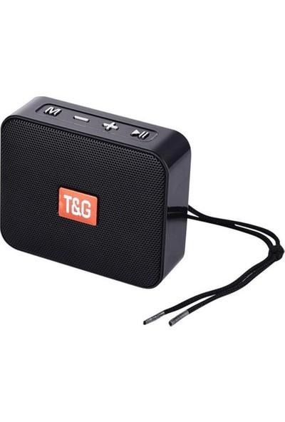Case 4U Go 2 Taşınabilir Bluetooth Hoparlör TG-166 - Hafıza Kartı - USB Bellek Girişli Ses Bombası Siyah