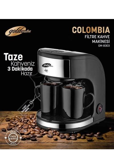 Goldmaster Colombia By 4303 Fitre Kahve Makinesi