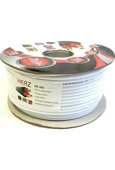 Herz RG6U4 Uydu Anten Kablosu 100METRE 48TEL