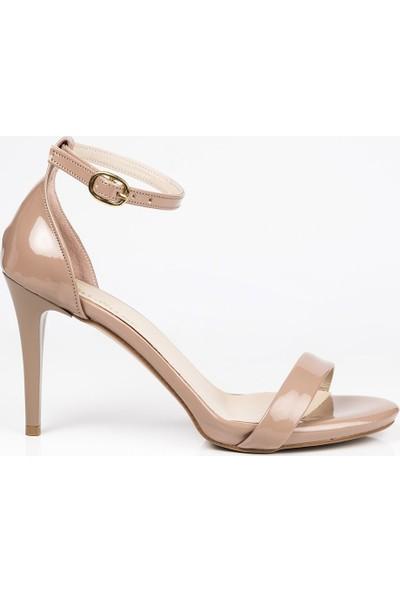 J'abotter Alvin Karamel Rugan 8 Cm Topuklu Ayakkabı