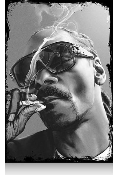 Tablomega Mini Ahşap Tablo Snoop Dogg 20X30cm