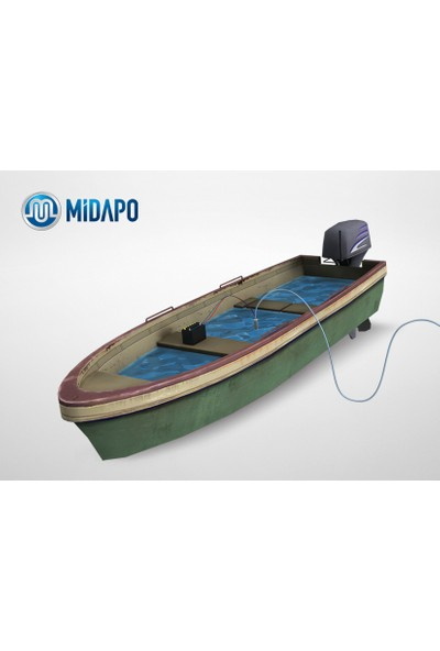 Midapo 12 V Çakmaklı Küçük Dalgıç Pompa