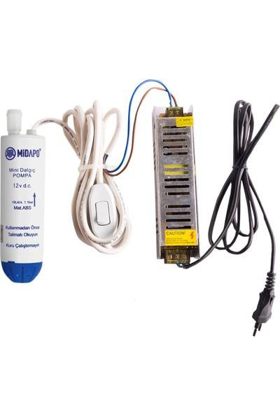 Midapo Mini Dalgıç Pompa 12-220V
