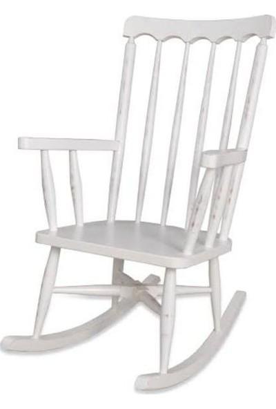 Ankaflex Sallanır Sandalye Sallanan Tv Kamp Sandalyesi Gürgen Ağacı