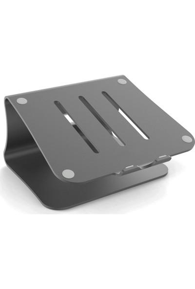 Vidvie Apple Macbook M Design Metal Stand - Füme
