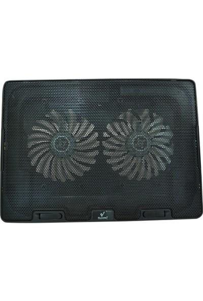 "Versatile Vrc-B8 15"" 2 Fan Ledli 2 x USB Port Notebook Soğutucu Stand"