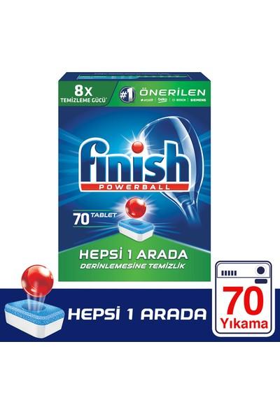 Finish Hepsi Bir Arada 70 Tablet Bulaşık Makinesi Deterjanı