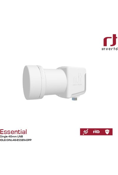 İnverto Essential Single Tek Çıkışlı Ultra Hd Lnb
