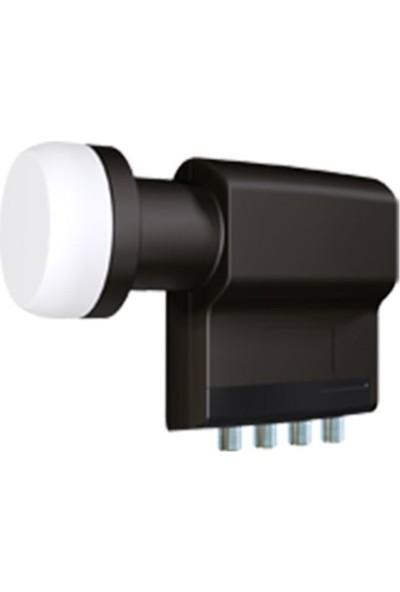 İnverto Black Premium Quad Dört Çıkışlı 40Mm Lnb