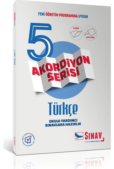 Sınav Yayınları 5. Sınıf Türkçe Akordiyon Kitap