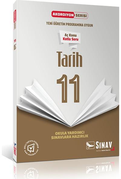 Sınav Yayınları 11. Sınıf Tarih Akordiyon Kitap