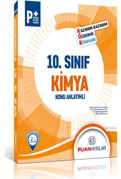 Puan Yayınları 10. Sınıf Kimya Kök Konu Anlatımlı