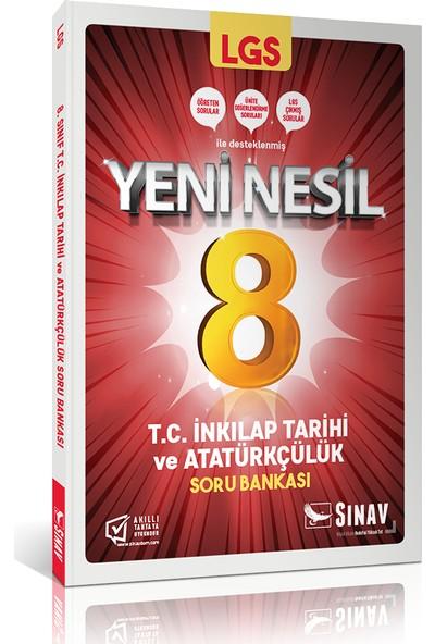 Sınav Yayınları 8. Sınıf LGS T.C. İnkılap Tarihi ve Atatürkçülük Soru Bankası